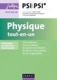 Marie-Nöelle Sanz et Stéphane Cardini - Physique tout-en-un PSI-PSI* - nouveau programme 2014.