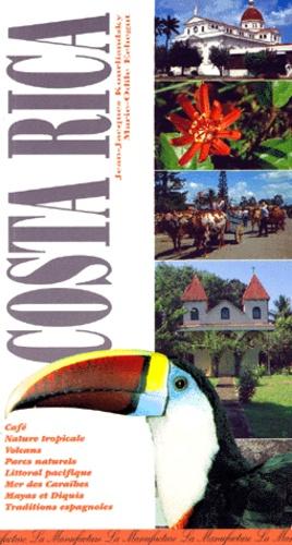 Marie-Odile Echegut et Jean-Jacques Kourliandsky - Le guide du Costa Rica.