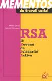 Marie-Odile Grilhot - RSA, le Revenu de Solidarité Active.