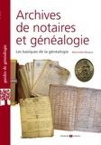 Marie-Odile Mergnac - Archives de notaires et généalogie - Les basiques de la généalogie.