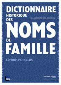 Marie-Odile Mergnac - Dictionnaire historique des noms de famille. 1 Cédérom