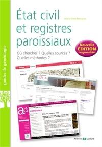 Marie-Odile Mergnac - Etat civil et registres paroissiaux - Les basiques de la généalogie.