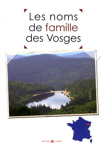 Marie-Odile Mergnac - Les noms de famille des Vosges.