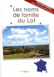 Marie-Odile Mergnac - Les noms de famille du Lot.