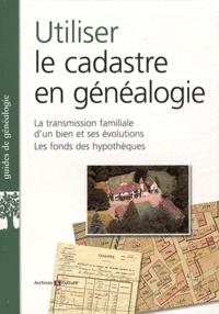 Utiliser Le Cadastre En Généalogie La Marie Odile Mergnac
