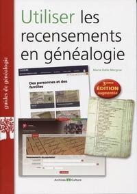 Marie-Odile Mergnac - Utiliser les recensements en généalogie.