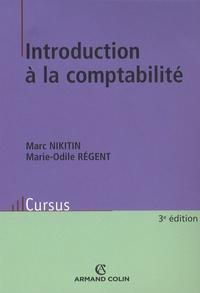Marie-Odile Régent et Marc Nikitin - Introduction à la comptabilité.