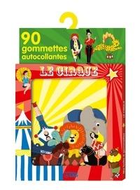 Marie Paruit - Gommettes le cirque.