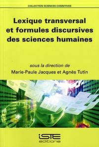 Histoiresdenlire.be Lexique transversal et formules discursives des sciences humaines Image