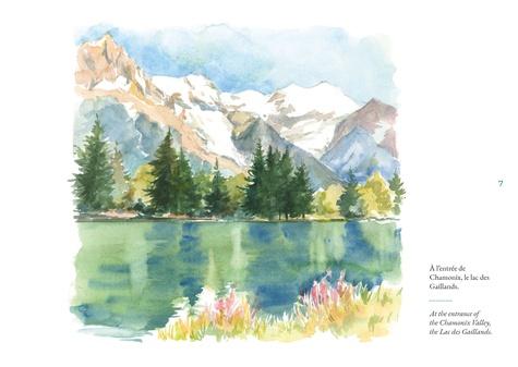 Carnet d'un peintre autour du Mont-Blanc
