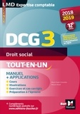 Marie-Paule Schneider et Maryse Ravat - Droit social DCG 3 - Manuel et applications.