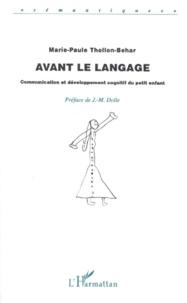 Marie-Paule Thollon-Behar - .