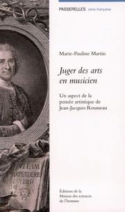 Juger des arts en musicien - Un aspect de la pensée artistique de Jean-Jacques Rousseau.pdf