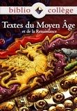Marie Péan - Bibliocollege - Textes du Moyen Age - Eleve.