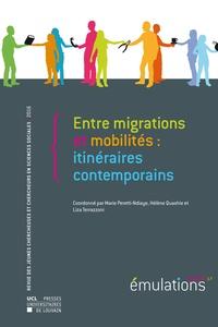 Marie Peretti-Ndiaye et Hélène Quashie - Émulations n° 17 : Entre migrations et mobilités : itinéraires contemporains.