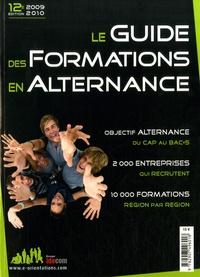 Marie Perreux - Le guide des formations en alternance 2009-2010.