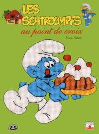 Marie Pieroni - Les Schtroumpfs au point de croix.