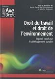 Marie-Pierre Blin-Franchomme et Isabelle Desbarats - Droit du travail et droit de l'environnement - Regards croisés sur le développement durable.