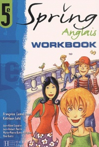 Ucareoutplacement.be Anglais 5ème Spring. Workbook Image