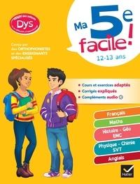 Marie-Pierre Caby et Carole Varin - Ma 5e facile ! - Français ; Maths ; Histoire - Géo EMC ; Physique - Chimie - SVT ; Anglais.