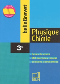 Physique-Chimie 3ème - Marie-Pierre Caby |