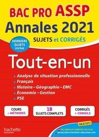 Marie-Pierre Cervoni et Guillaume Luciani - Annales Bac Pro ASSP Tout-en-un - Sujets et corrigés.