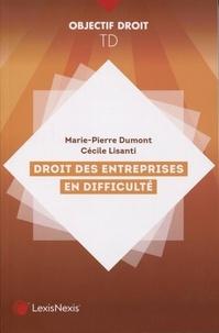 Marie-Pierre Dumont - Droit des entreprises en difficulté.