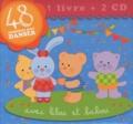 Marie-Pierre Emorine - 48 comptines pour danser avec Lilou et Babou. 2 CD audio