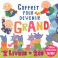 Marie-Pierre Emorine et Françoise Bobe - Coffret pour devenir grand - Comptines autour de l'appétit des petits ; Comptines autour du pot. 2 CD audio
