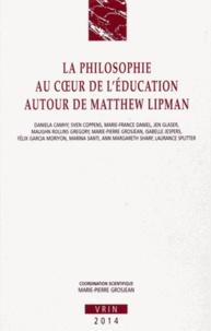 Marie-Pierre Grosjean - La philosophie au coeur de l'éducation autour de Matthew Lipman.