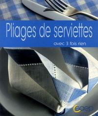 Rhonealpesinfo.fr Pliages de serviettes Image