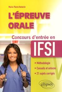 Galabria.be L'épreuve orale - Concours d'entrée en IFSI Image
