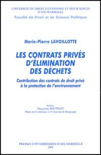 Deedr.fr Les contrats privés d'élimination des déchets. Contribution des contrats de droit privé à la protection de l'environnement Image