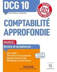 Marie-Pierre Mairesse et Arnaud Desenfans - Comptabilité approfondie DCG 10 - Manuel.
