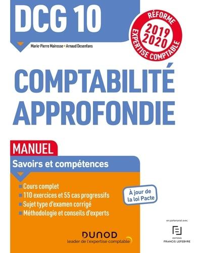 Comptabilité approfondie DCG 10. Manuel  Edition 2019-2020