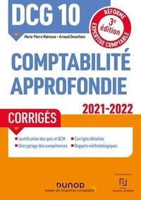 Marie-Pierre Mairesse et Arnaud Desenfans - Comptabilité approfondie DCG 10 - Corrigés.