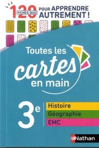 Histoire-géographie Enseignement moral et civique 3e- 120 fiches quizz pour apprendre autrement - Marie-Pierre Saulze pdf epub