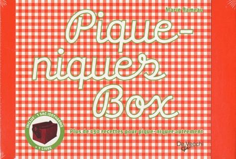 Marie Rameau - Pique-niques Box - Coffret avec un livre + 1 sac isotherme.