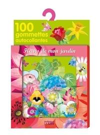 Marie-Rose Boisson - Fleurs de mon jardin - 100 gommettes autocollantes.