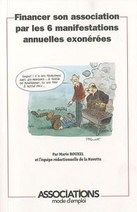 Marie Rouxel - Financer son association par les 6 manifestations annuelles exonérées.