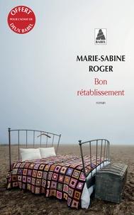 Marie-Sabine Roger - Ope babel ete 2017 gratuit 1 - bon retablissement.