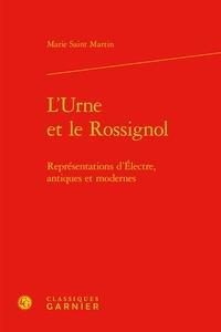 Deedr.fr L'urne et le rossignol - Représentations d'Electre, antiques et modernes Image