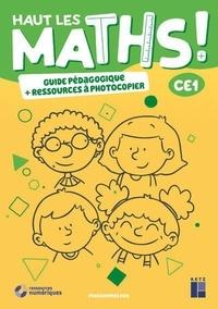 Marie-Sophie Mazollier et Eric Mounier - Hauts les maths ! CE1 - Pack en 2 volumes : Guide pédagogique + Ressources à photocopier.