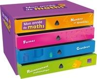 Marie-Sophie Mazollier et Muriel Fénichel - Mon année de maths GS - Mallette complète. 1 Cédérom