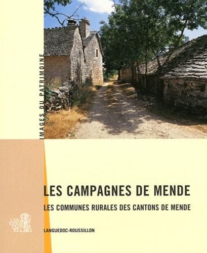 Marie-Sylvie Grandjouan - Les campagnes de Mende - Les communes rurales des cantons de Mende, Languedoc-Roussillon.