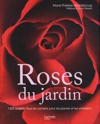 Marie-Thérèse Haudebourg - Roses du jardin.