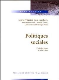 Accentsonline.fr POLITIQUES SOCIALES. 2ème édition revue et mise à jour Image