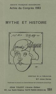 Marie-Thérèse Jones-Davies - Mythe et histoire - Société française Shakespeare - Actes du congrès 1983.
