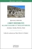 Marie-Thérèse Le Dinahet - L'Orient méditérranéen de la mort d'Alexandre au 1er siècle avant notre ère - Anatolie, Chypre, Egypte, Syrie.