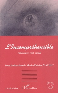 Marie-Thérèse Mathet - L'Incompréhensible. - Littérature, réel, visuel.